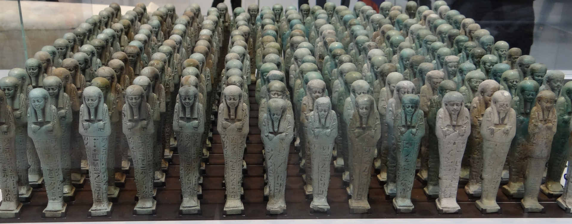 A Collection of Ushabti Figurines