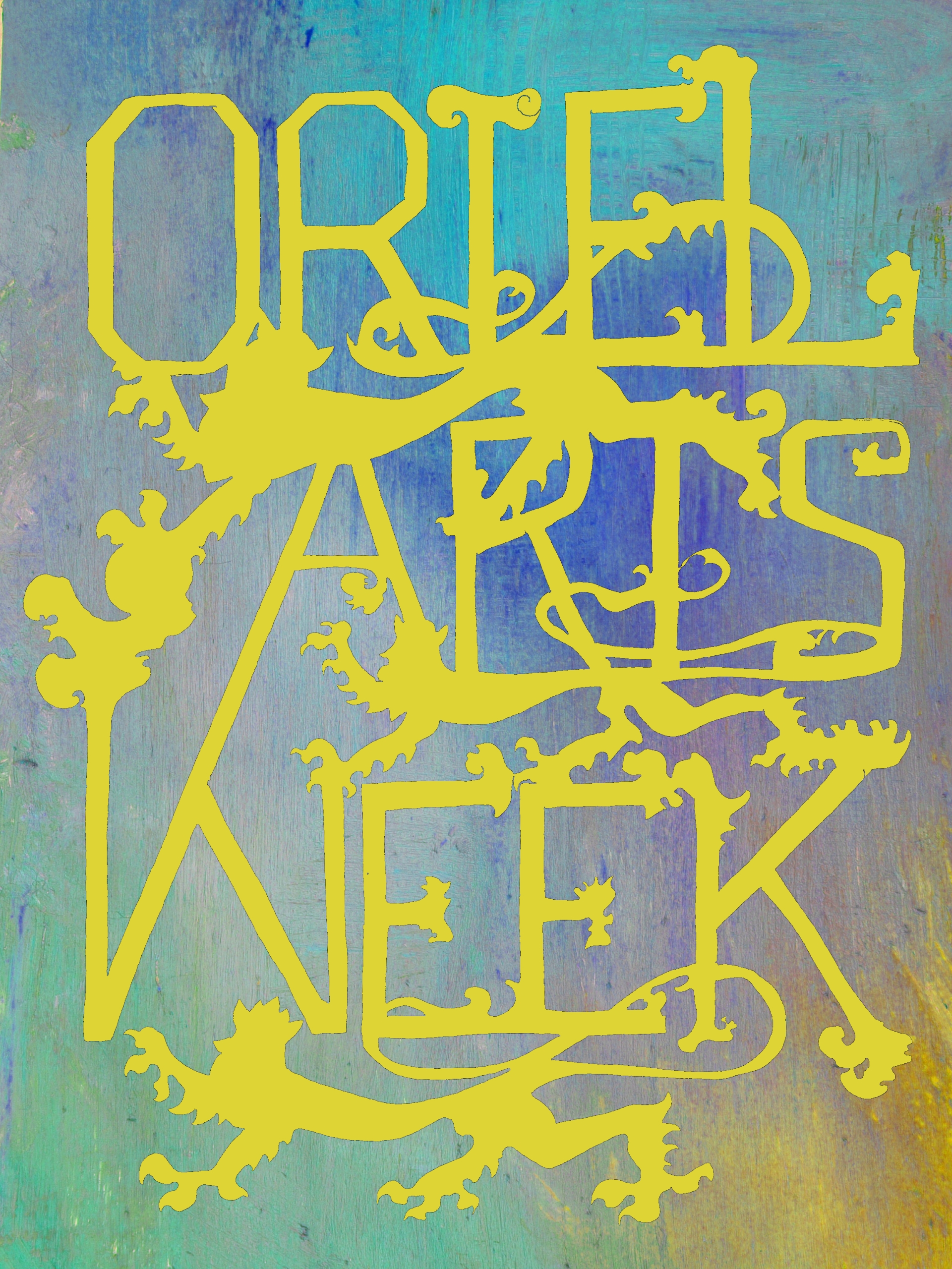 Oriel Arts Week 2015 gold