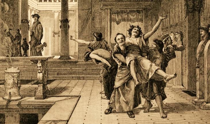 John_Reinhard_Weguelin–The_Roman_Saturnalia_(1884)