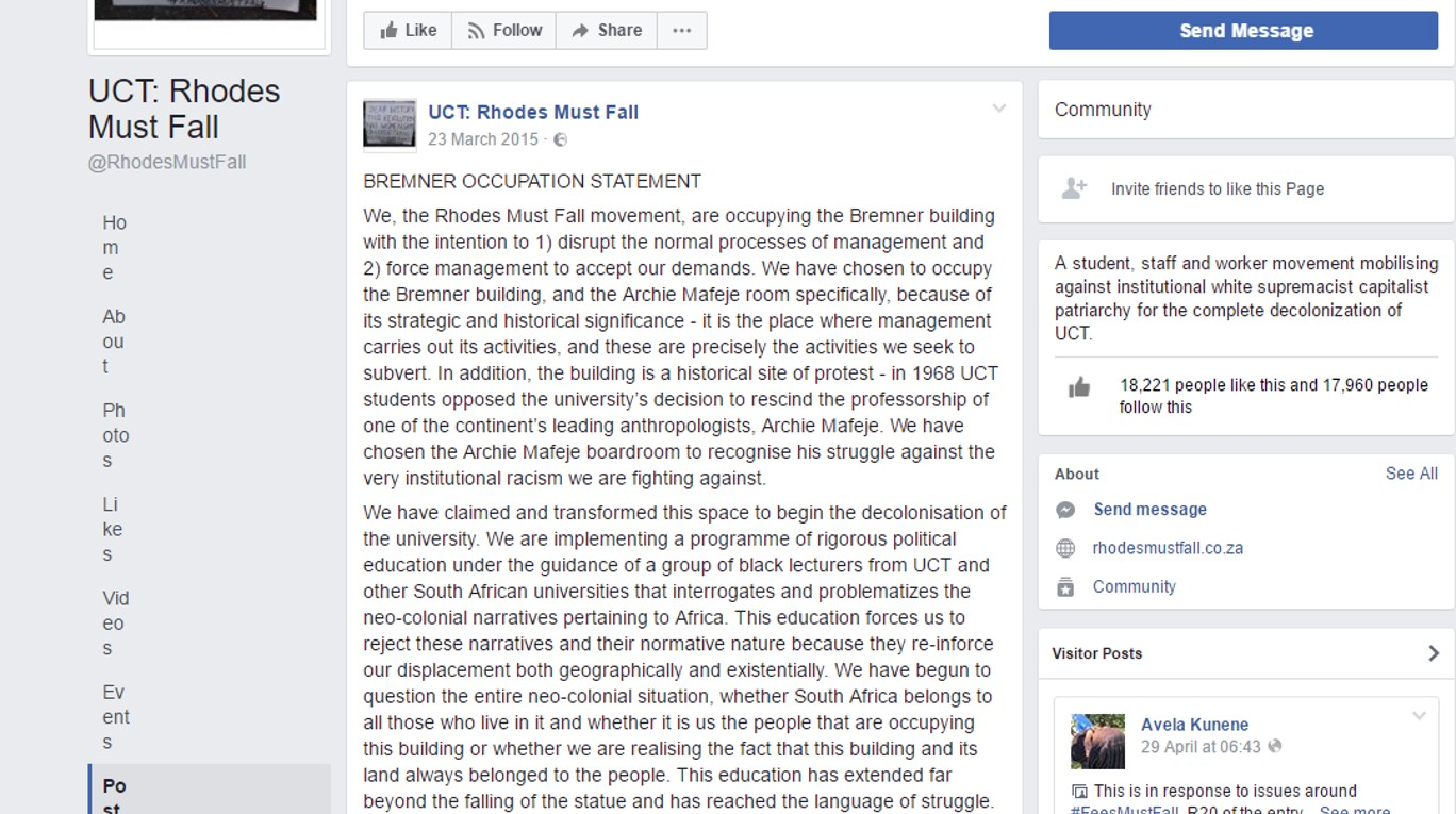 Bremner Occupation Statement (23.03.15)